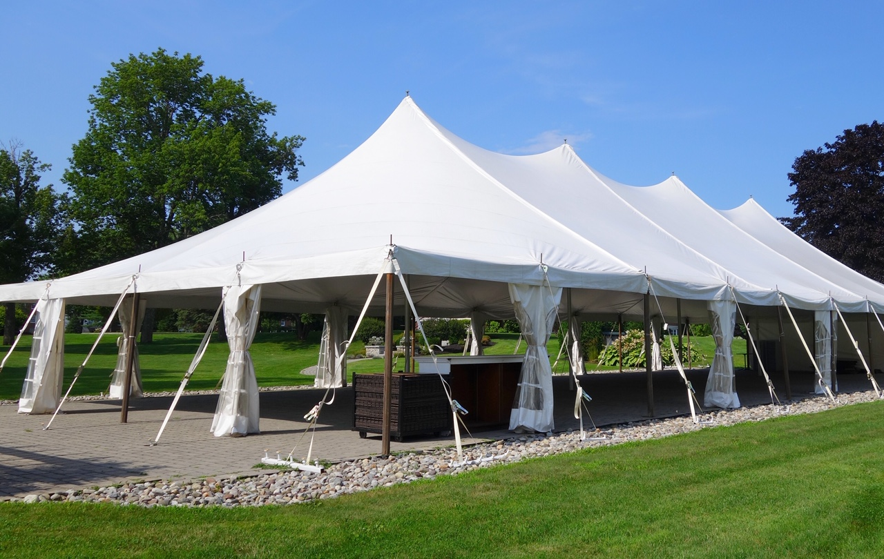 Large Beautiful Entertainment Marquee White Events Tent