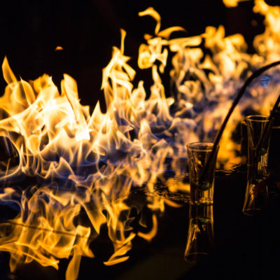 Bar on Fire shutterstock_paid